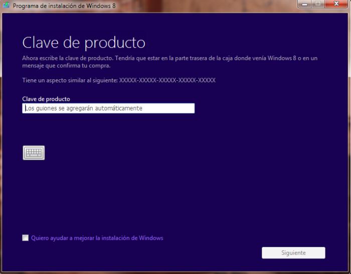 Windows 8 serial