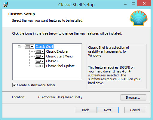 classic shell 2