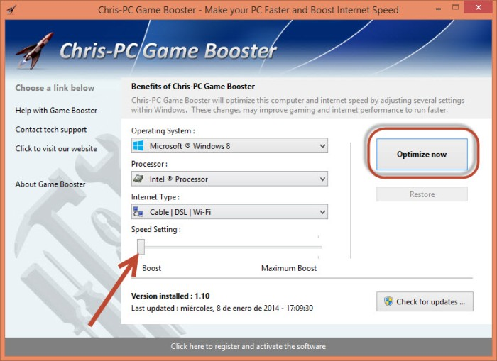 C PC Game Booster 3