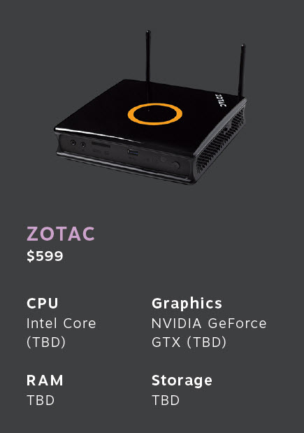 Zotac Steam machine
