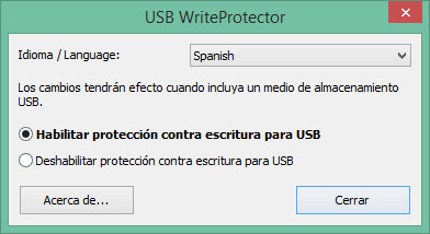 USB write protect 1