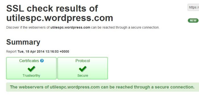 SSL tools