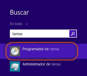 programador tareas