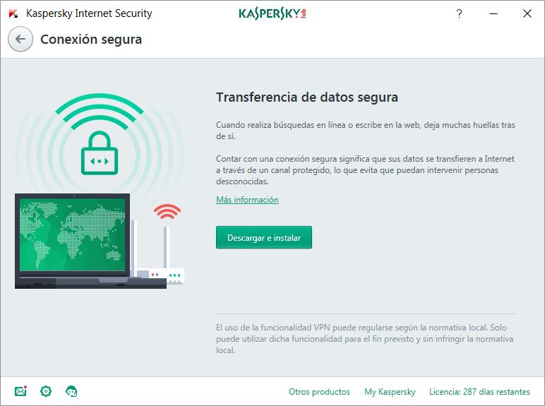Análisis de Kaspersky Internet Security 2018 3